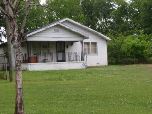 House in Pratt City, Ala. where Edwina grew up